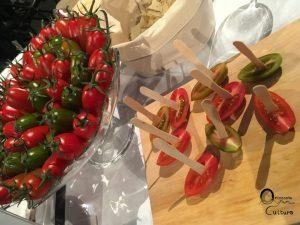 Degustazione pomodorini Torpedino a WineHunter