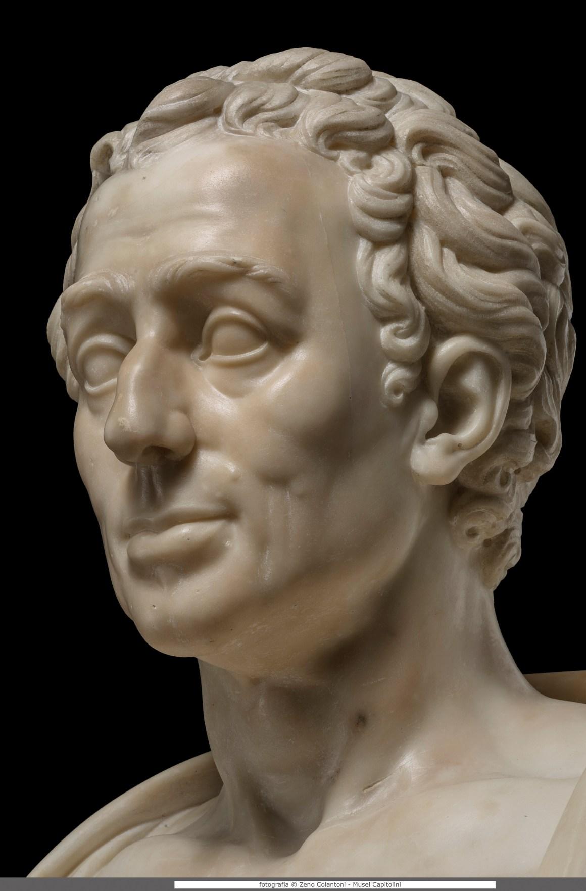 F.G. Doell, Winckelmann, 1782, Musei Capitolini, Protomoteca inv. Pro 47 Foto di Zeno Colantoni, Winckelmann Tesori di Antichità Roma