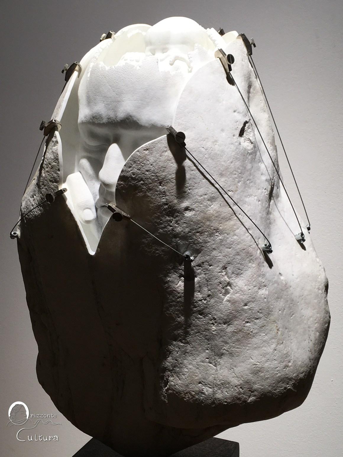 """Memoria di sé da Jago """"Habemus Hominem"""" al Museo Carlo Bilotti - Orizzonte Cultura (ph. I.M. Melis)"""
