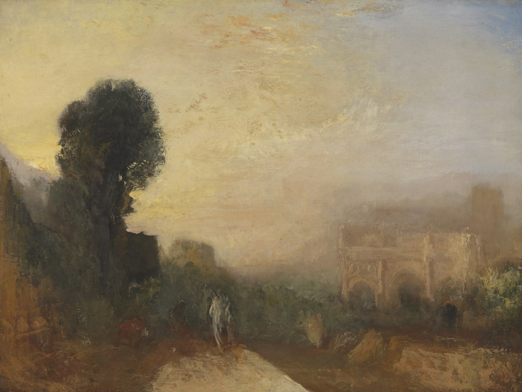 © J. M. W. Turner, The Arch of Constantine, Rome c.1835 Oil paint on canvas Tate: Accepted by the nation as part of the Turner Bequest 1856