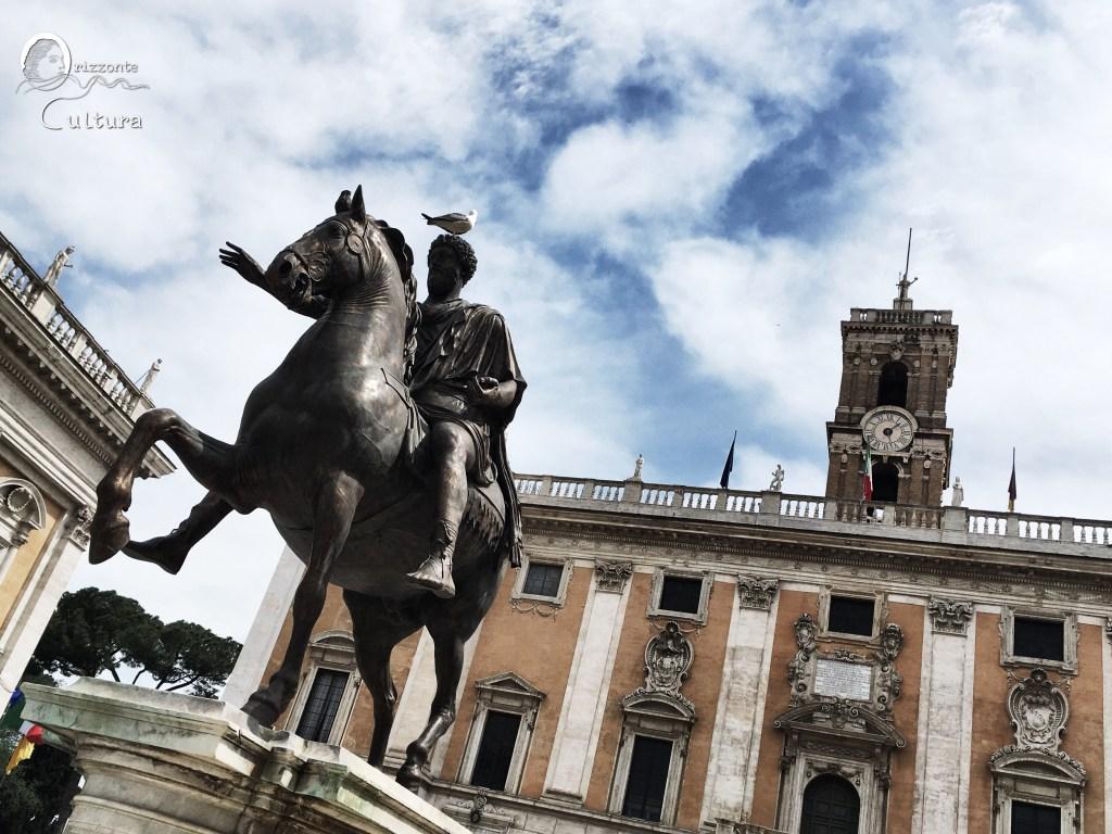 Piazza del Campidoglio - Orizzonte Cultura (ph. Ilenia Maria Melis)