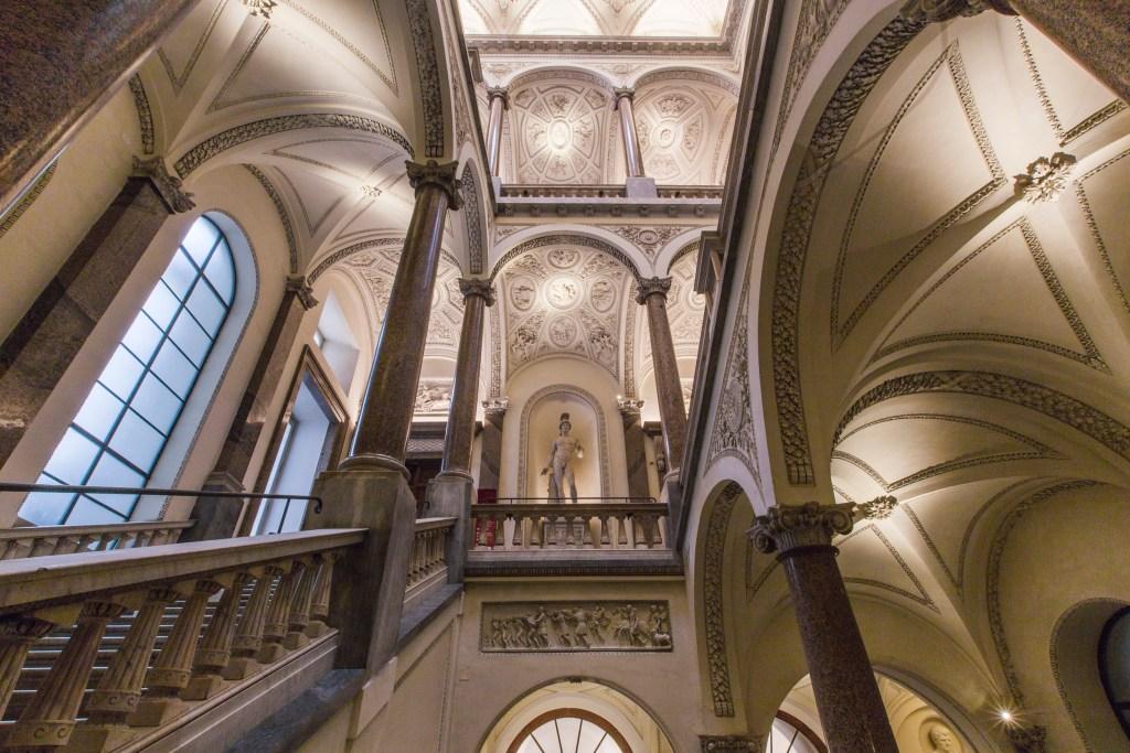 Scalone Museo di Roma Palazzo Braschi