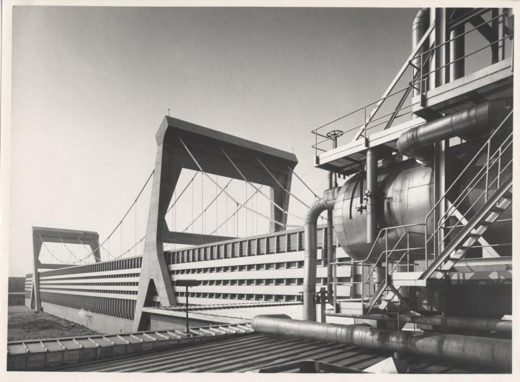 Pier Luigi Nervi, Cartiera Burgo, Mantova 1961-1964 - Gli architetti di Zevi, MAXXI
