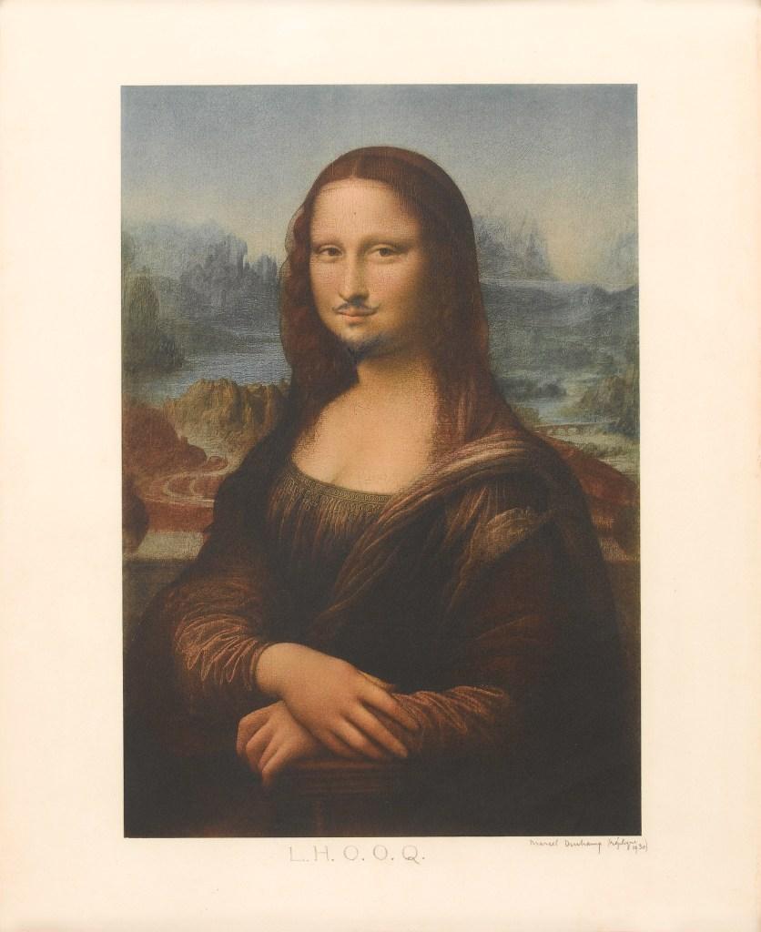 Marcel Duchamp, L.H.O.O.Q. (La Jaconde) - Da Magritte a Duchamp
