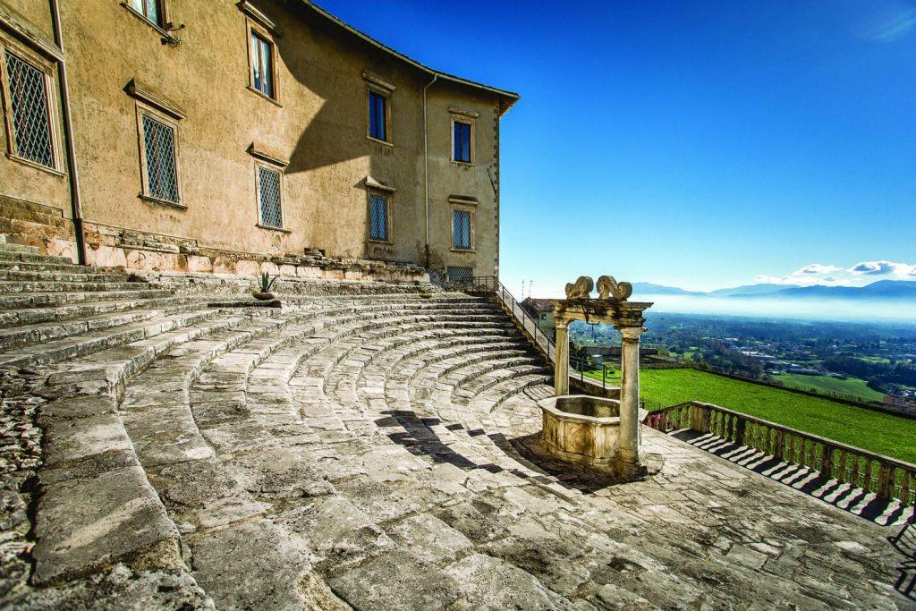 LUCI su FORTUNA_Santuario della Fortuna Primigenia e Museo nazionale archeologico di Palestrina
