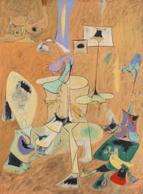 Arshile Gorky mostra Pollock