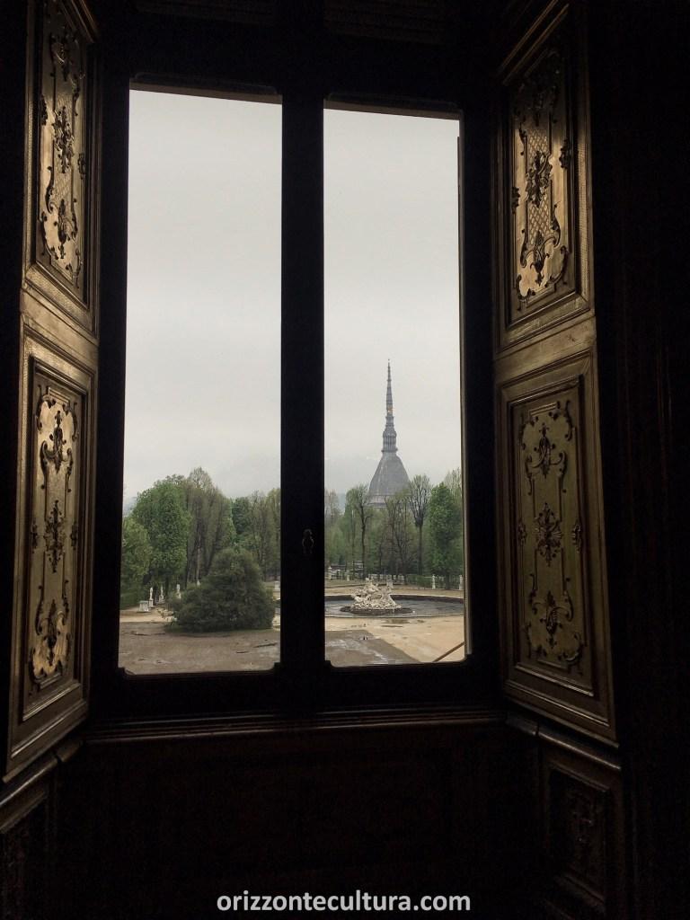 La Mole dai Musei Reali di Torino