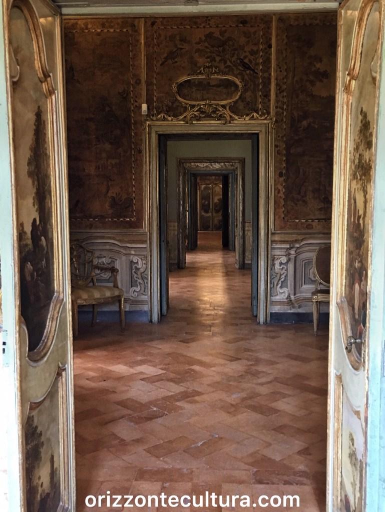 Stanze appartamento Costanza Barberini