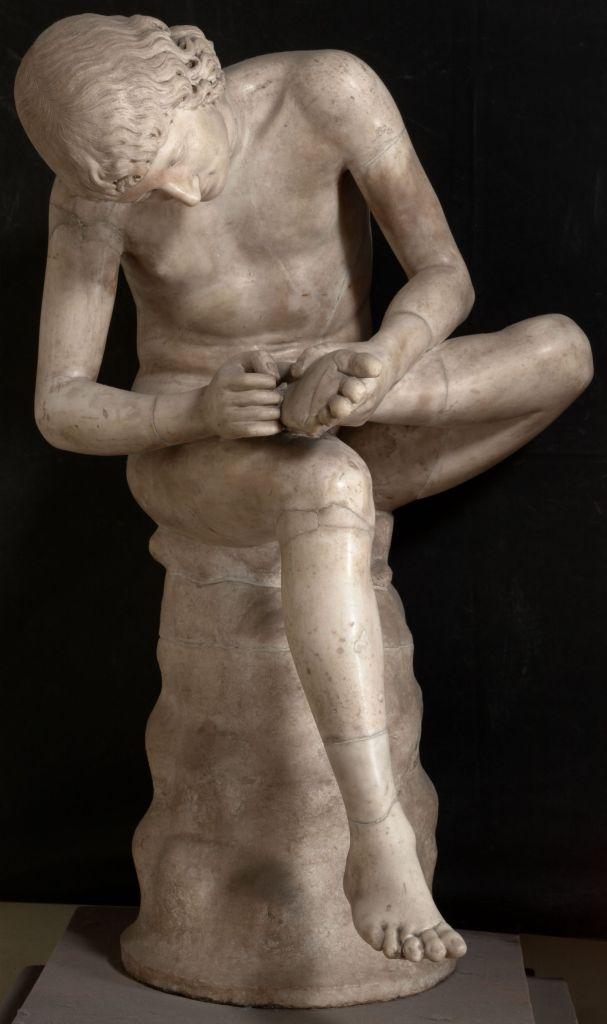 Spinario Medici, Gallerie degli Uffizi