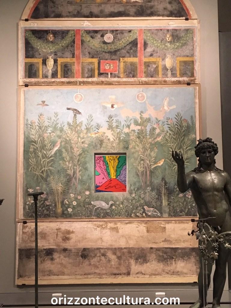 Casa del Bracciale d'Oro e Vesuvio di Andy Warhol, Pompei Santorini Scuderie del Quirinale
