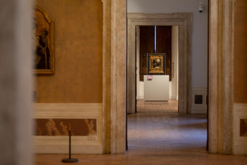 Uno scorcio dalla mostra a Palazzo Barberini Michelangelo a colori