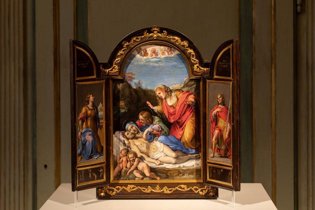 Annibale Carracci e bottega, Tabernacolo portatile, capolavori Saicento Palazzo Barberini allestimento