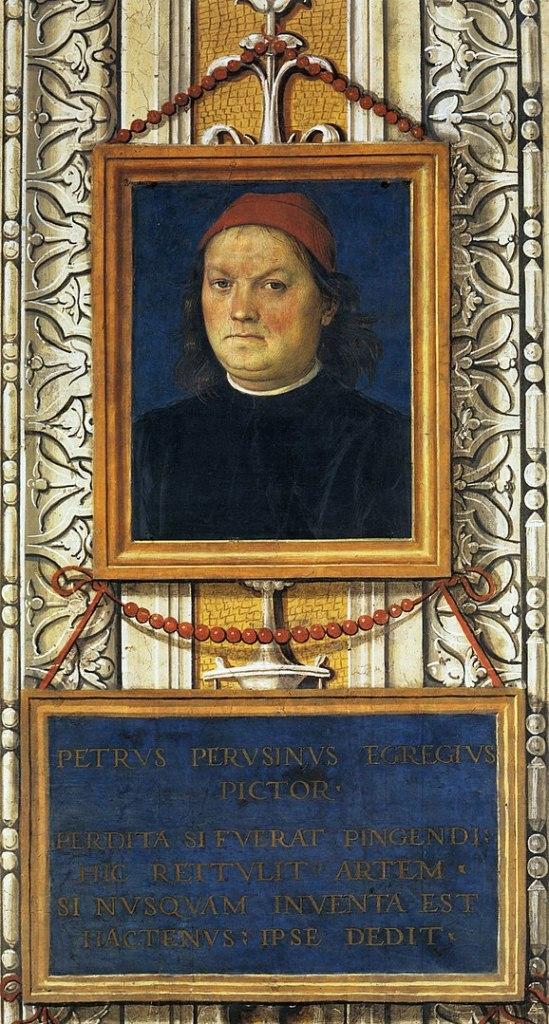 Autoritratto del Perugino, Collegio del Cambio, Visitare Perugia in 1 giorno