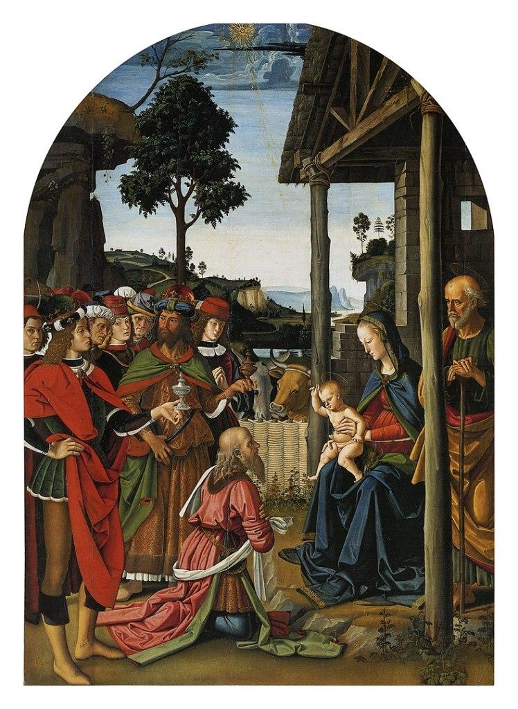 Pietro Perugino, Adorazione dei Magi