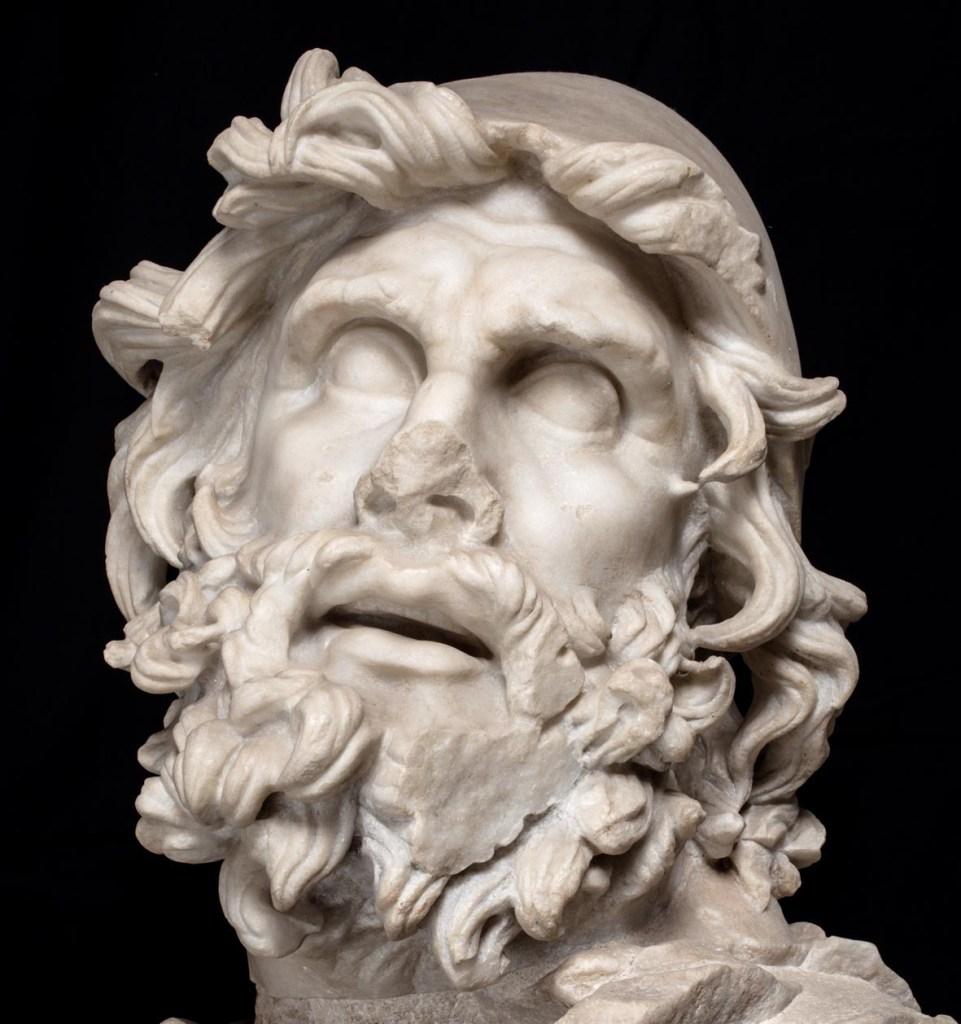 Testa di Ulisse dal Museo Archeologico di Sperlonga, agenda mostre primavera 2020
