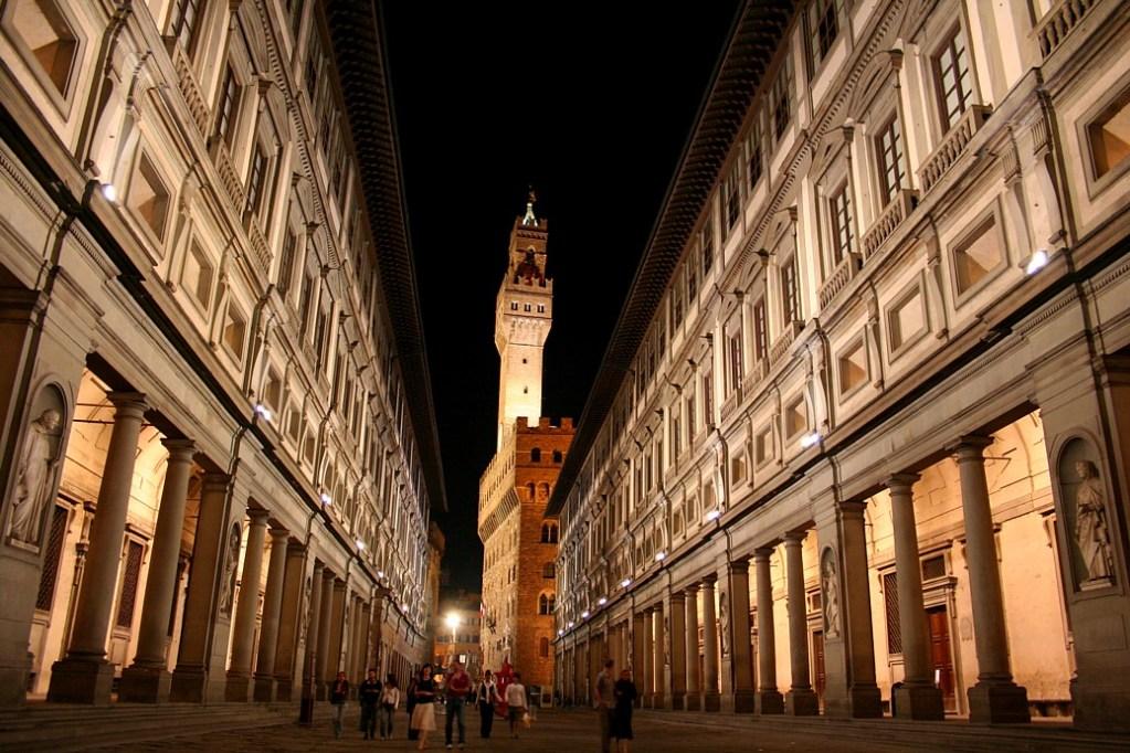 Gli Uffizi e Palazzo Vecchio a Firenze, 10 musei italiani visitare da casa