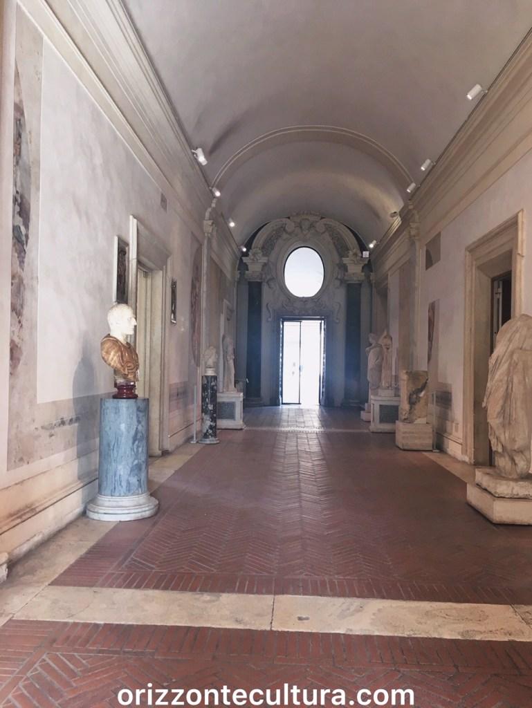 Androne delle Terme di Diocleziano Roma