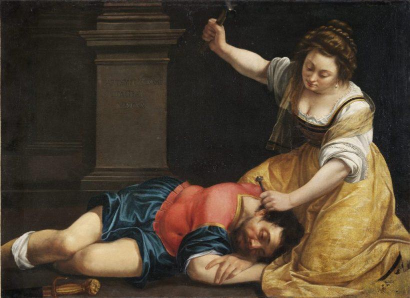 La donna nell'arte Artemisia Gentileschi