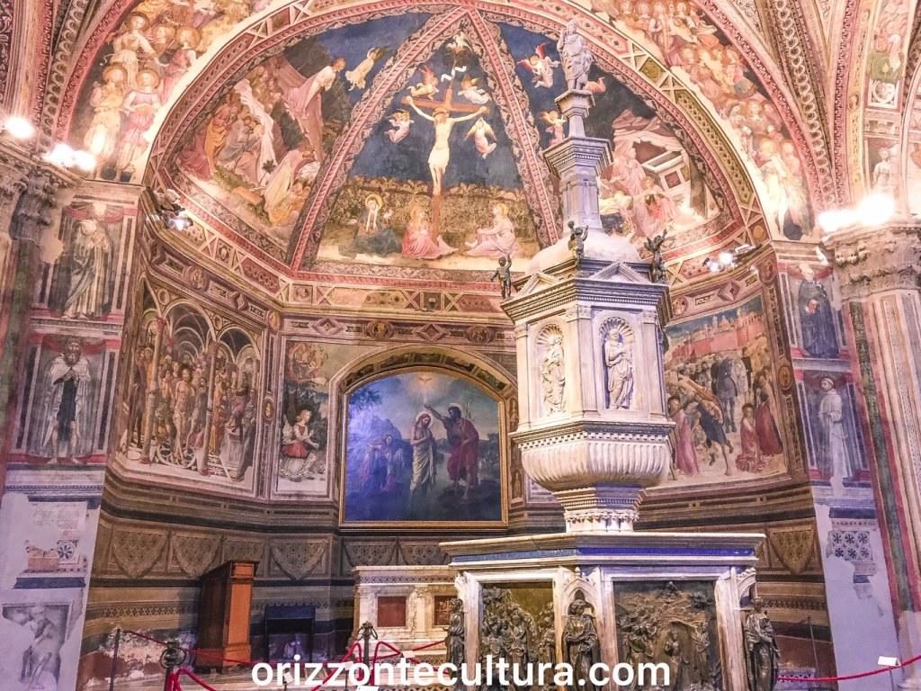 Battistero di San Giovanni Siena