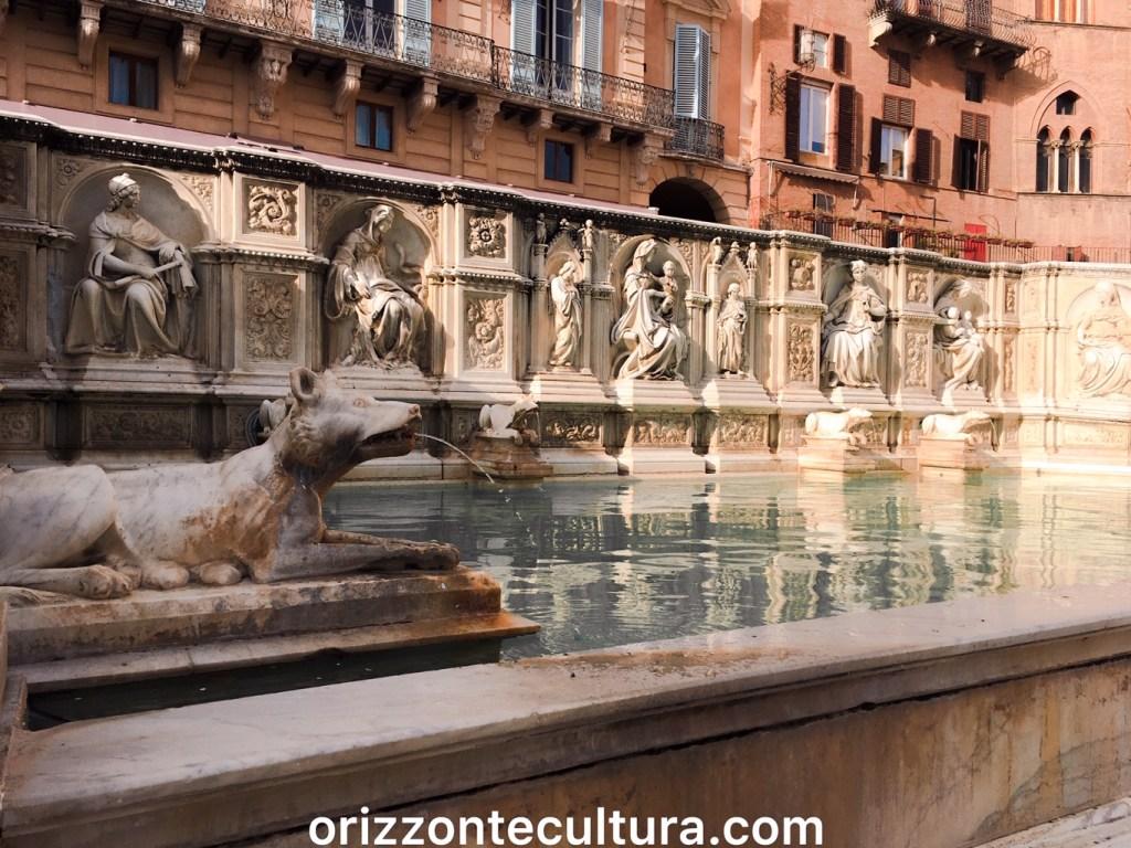 Fonte Gaia piazza del Campo Siena, weekend Siena cosa visitare