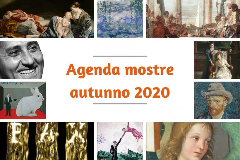 AGENDA MOSTRE Autunno 2020