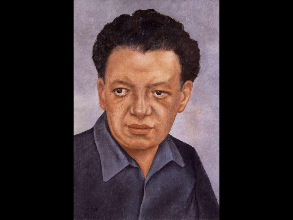 Frida Kahlo, Ritratto di Diego Rivera, 1937