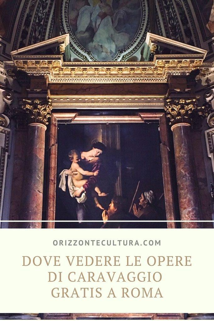 Dove vedere le opere di Caravaggio gratis a Roma - Pinterest (1)
