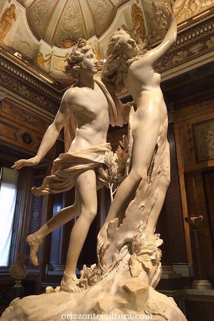 Bernini, Apollo e Dafne, Galleria Borghese