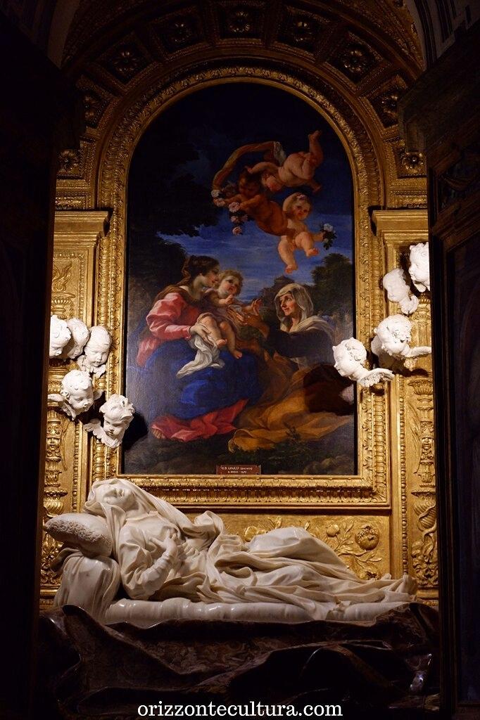 Bernini, Beata Ludovica Albertoni, chiesa di San Francesco a Ripa, itinerario opere Bernini Roma