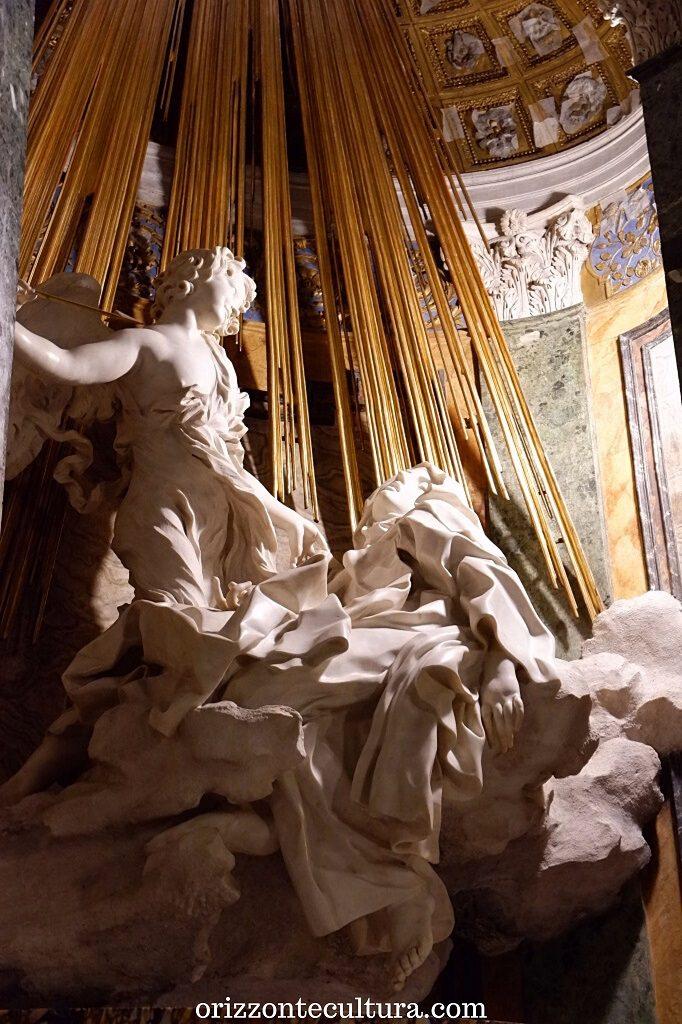 Bernini, Estasi di Santa Teresa d'Avila nella chiesa di Santa Maria della Vittoria