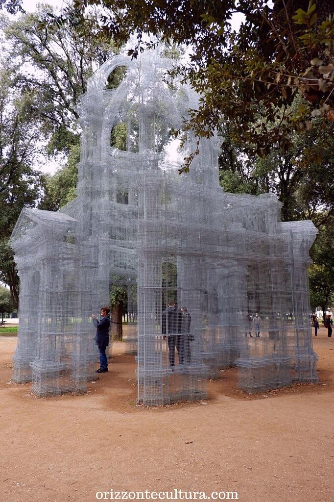 Edoardo Tresoldi, Etherea dettaglio, Back to Nature arte Villa Borghese