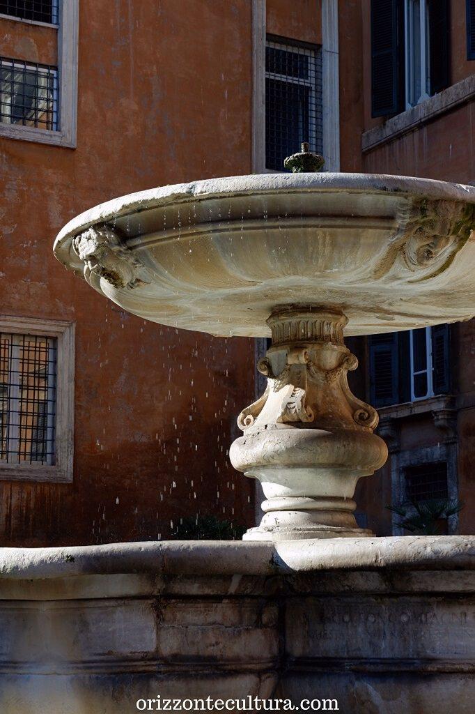 Fontana di piazza delle CInque Scole, Ghetto Roma
