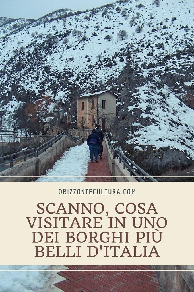 Scanno cosa visitare in uno dei borghi più belli d'Italia - Pinterest 1