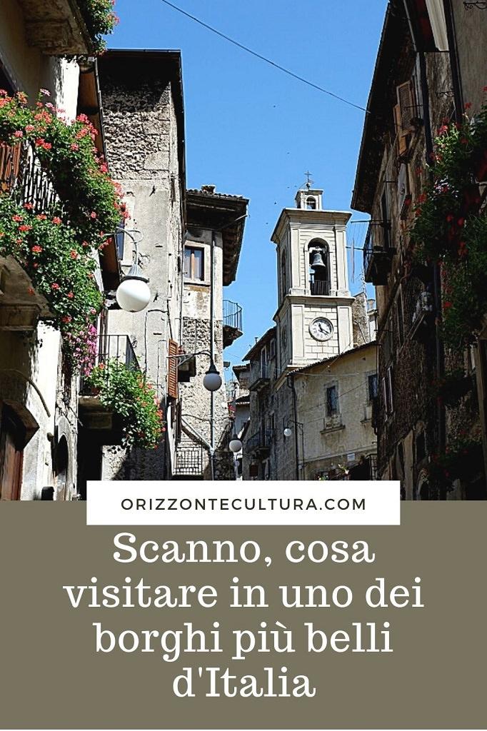Scanno cosa visitare in uno dei borghi più belli d'Italia - Pinterest 3