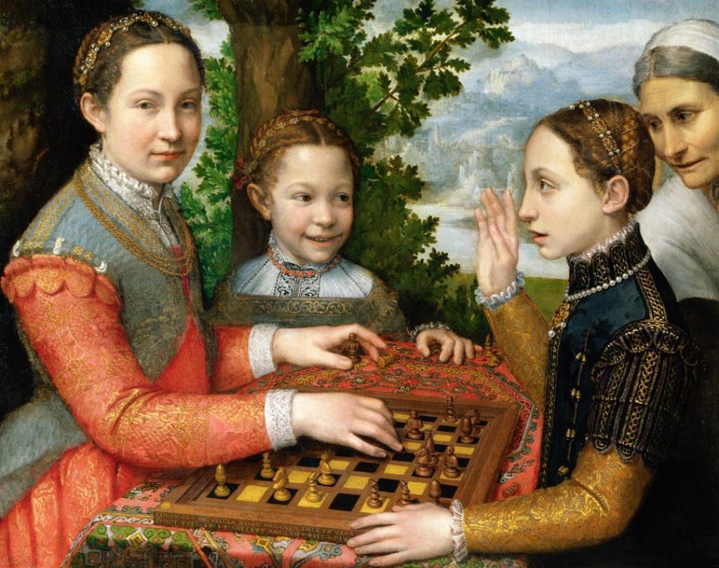 Sofonisba Anguissola, Le sorelle della pittrice, la donna nell'arte Sofonisba Anguissola