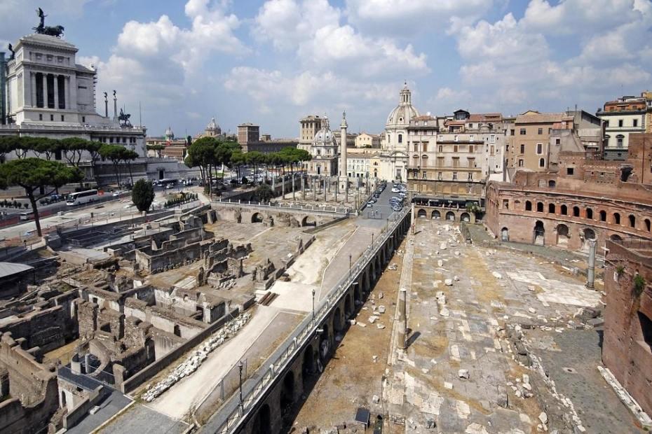 Lo scavo archeologico di via Alessandrina ai Fori Imperiali