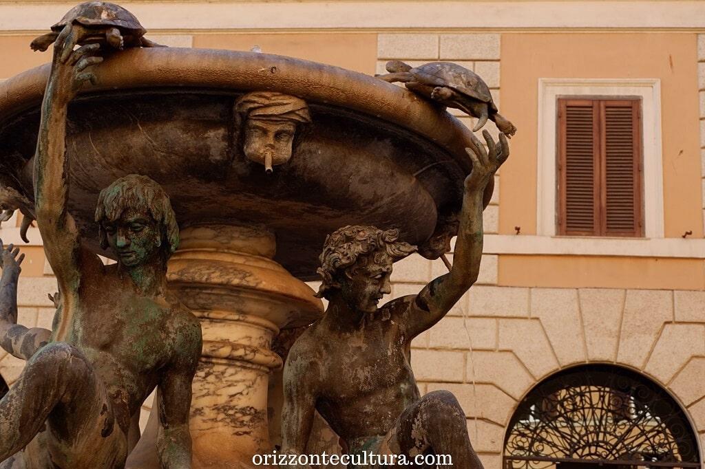 Fontana delle Tartarughe, Roma, pizza Mattei