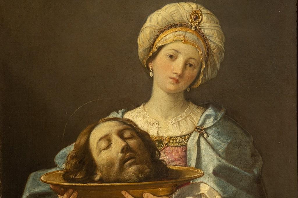 Guido Reni Salomè, l'ora dello spettatore Barberini