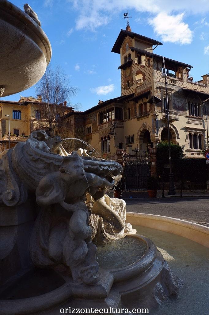 Il Villino delle Fate, quartiere Coppedè Roma