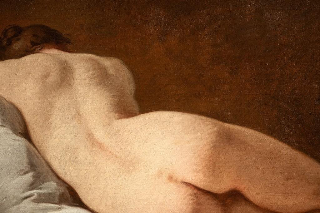Pierre Subleyras, La nuda, foto Alberto Novelli, Palazzo Barberini opere