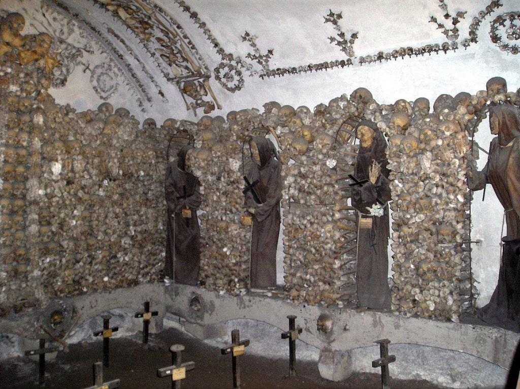 Cripta dei Cappuccini di via Veneto a Roma