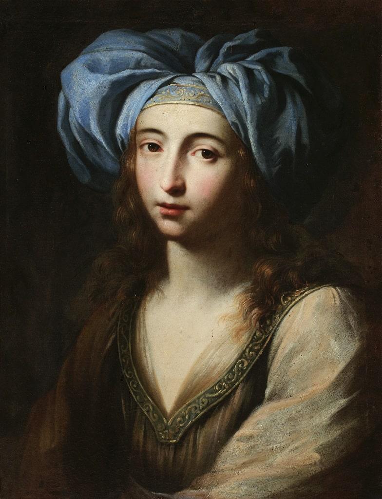 Ginevra Cantofoli Giovane donna in vesti orientali, signore arte mostra Palazzo Reale
