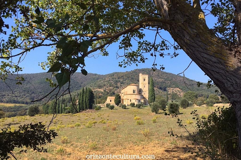 Abbazia di San'Antimo, Montalcino, borghi più belli visitare toscana