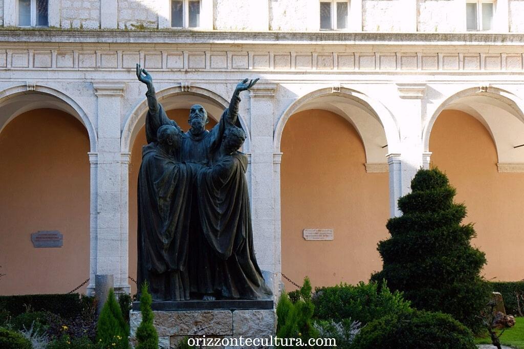 Attilio Selva, La Morte di San Benedetto, cosa vedere nell'abbazia di Montecassino