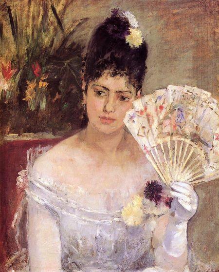 Berthe Morisot, Al ballo, Berthe Morisot pittrice Impressionismo