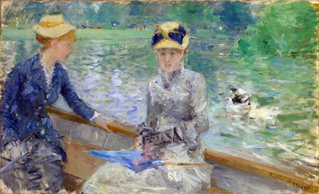 Berthe Morisot, Giorno d'estate, opere Berthe Morisot