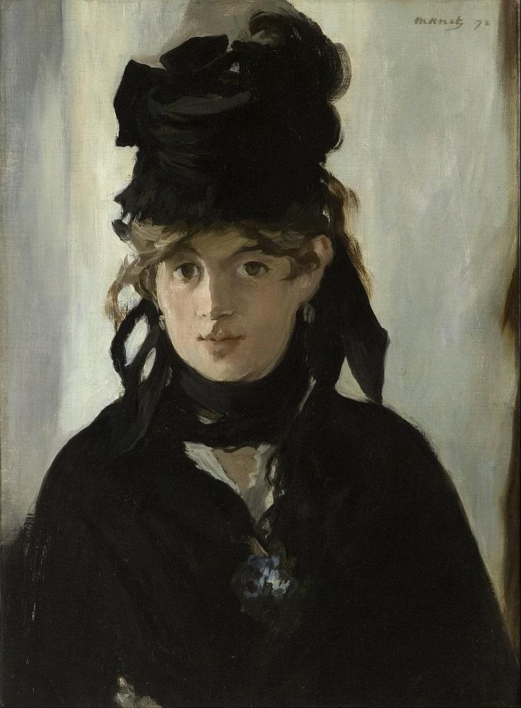 Edouard Manet, Berthe Morisot con un mazzo di violette