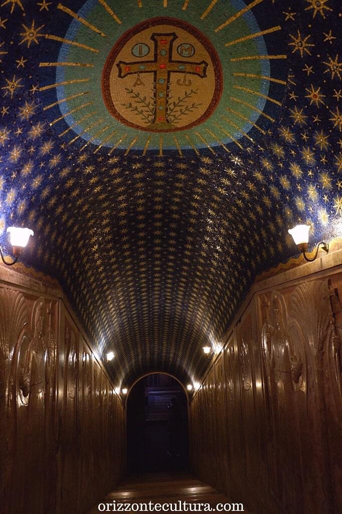 Ingresso cripta Abbazia di Montecassino