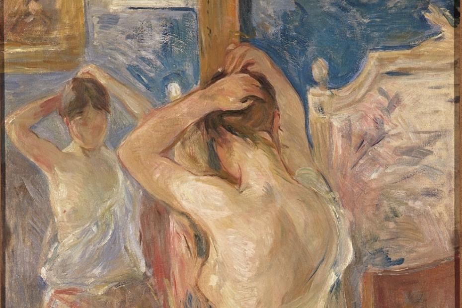 La donna nell'arte Berthe Morisot