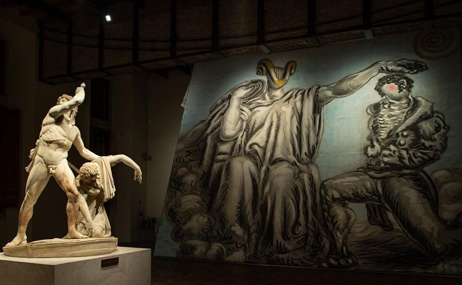 Savinio Incanto e mito a Palazzo Altemps, ph Studiozabalik